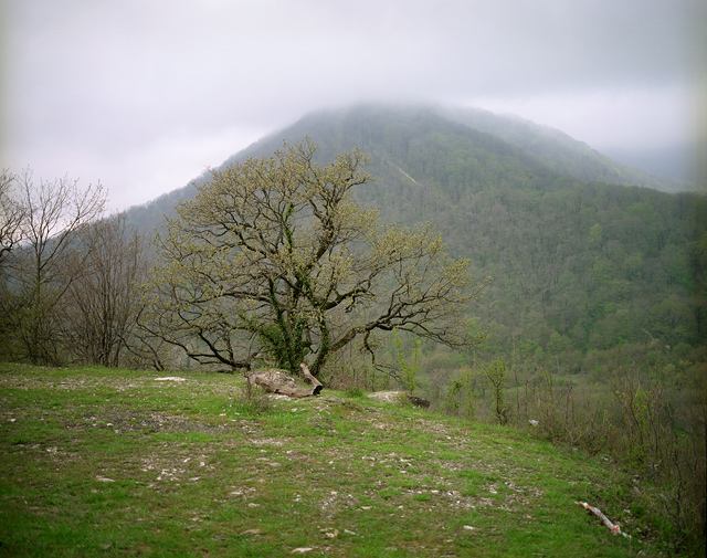 The Ashe river valley located in an area near Sochi where a few thousand Circassians live in compact communities. Before the Russian-Caucasian war, a large Circassian village was located along the river Ashe – stretched from its mouth up to the mountains for 20 km. During the mid 19th-century Circassian tragedy, all native villages have been completely erased. ASHE VALLEY/SOCHI, RUSSIA, 2009