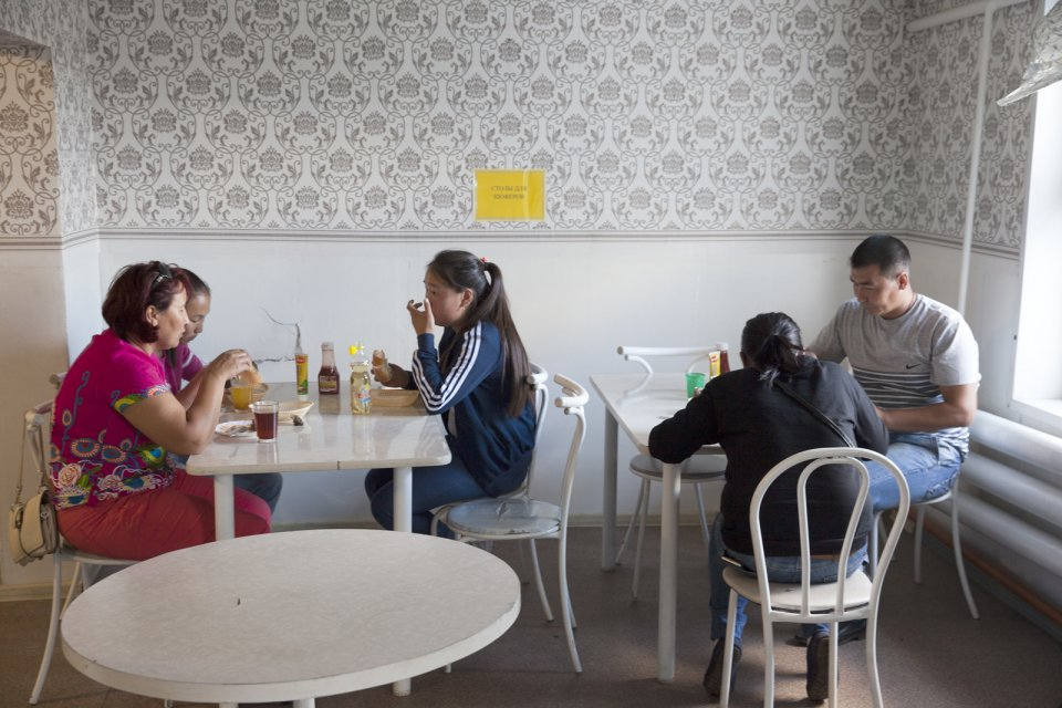 A roadside cafe in Balgazyn on the M-54 road half way between Tuvan capital Kyzyl and the Mongolian border