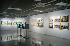 Palimpsests at group show New Landscape at Museum of Art, Kazan, 2019